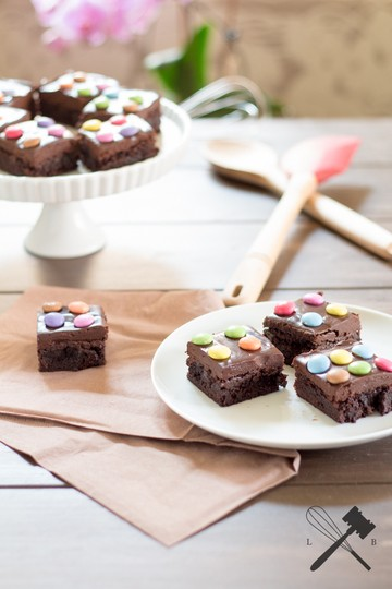 Rezept Cosmic Brownies