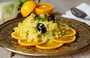Rezept Cous Cous Salat mit Fenchel und Orangen