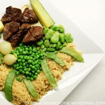 Rezept Couscous al Kharif