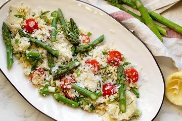 Rezept Couscous-Salat mit Spargel und Artischocken