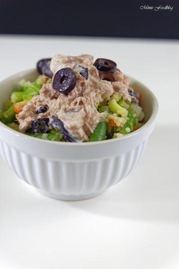 Rezept Couscous Salat mit Thunfischcreme
