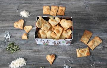 Rezept Cracker mit Parmesan und Oregano