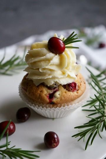 Rezept Cranberrie-Pecannuss-Cupcakes