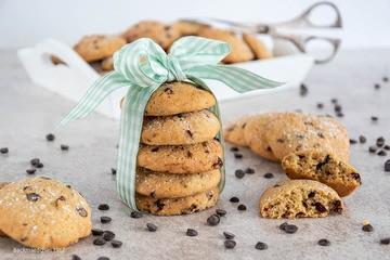 Rezept Cranberry-Cookies mit Schokotropfen