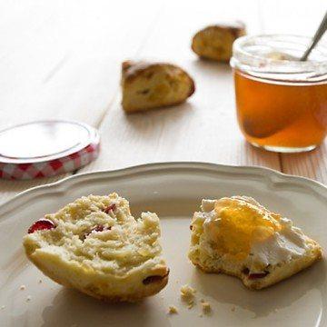 Rezept Cranberry-Ingwer-Scones