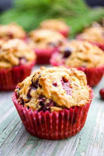 Rezept Cranberry Muffins