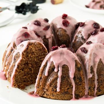 Rezept Cranberry-Schoko Rotweinkuchen