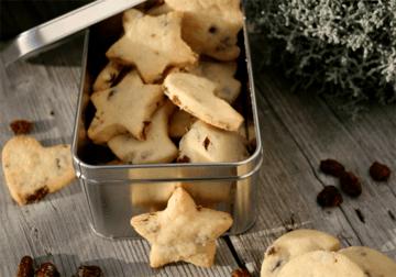 Rezept Cranberry Shortbread mit Dinkelmehl