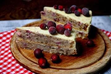 Rezept Cranberrykuchen