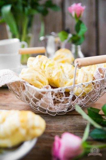 Rezept Cream Cheese Lemon Zöpfe