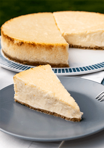 Rezept  Creamy New York Cheesecake