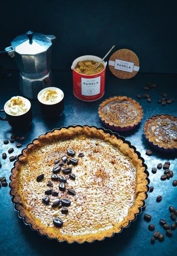 Rezept Creme-Brulee-Tarte mit Cafe und Panela