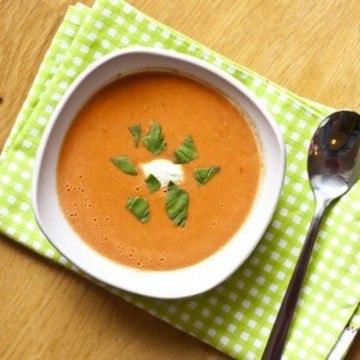 Rezept Cremige 10-Minuten Tomaten Suppe