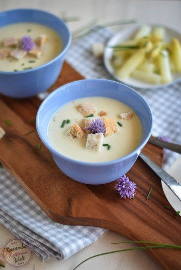 Rezept Cremige Spargelcremesuppe
