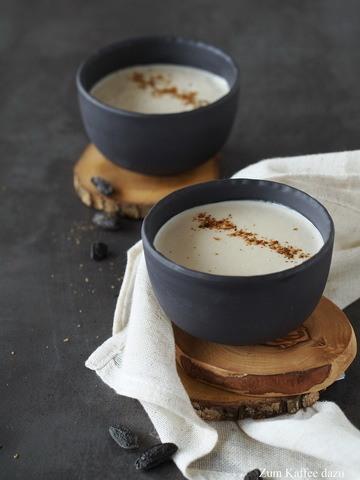 Rezept Cremige Tonka-Latte mit Cashews