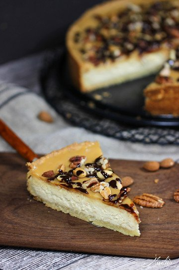 Rezept Cremiger Toffee-Cheesecake