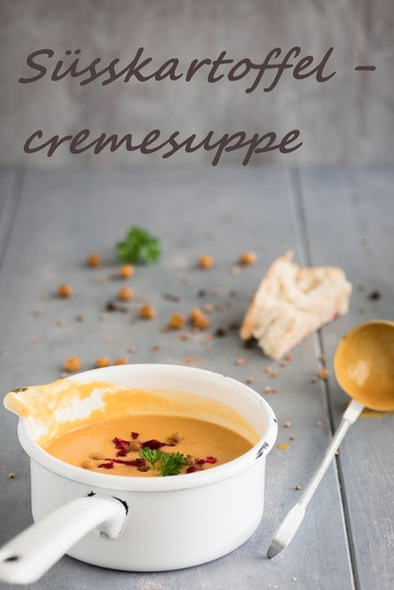 Rezept Cremiges Süßkartoffelsüppchen