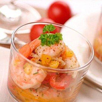 Rezept Crevetten-Salat