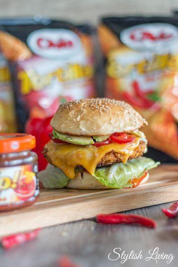 Rezept Crispy Chicken Burger