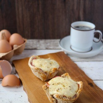 Rezept Croque Madame Muffins
