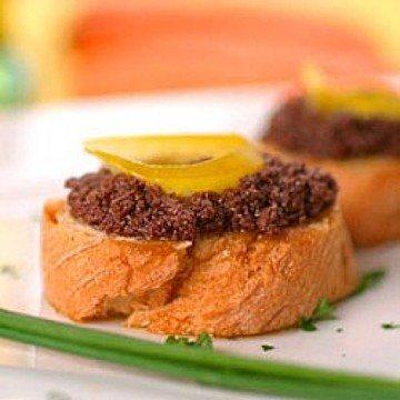 Rezept Crostini mit Oliven-Creme