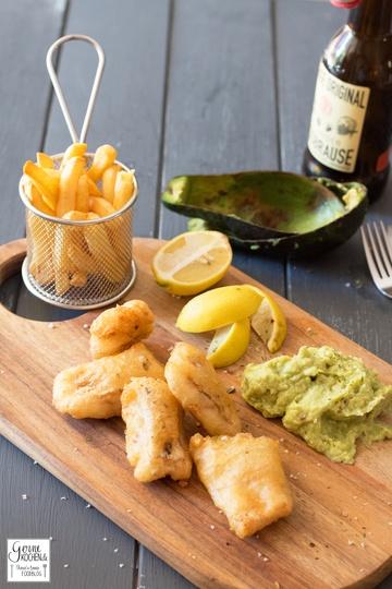 Rezept Curry-Backfisch mit Avocado-Remoulade