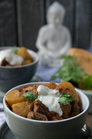 Rezept Curry Kartoffel Rindfleisch Topf