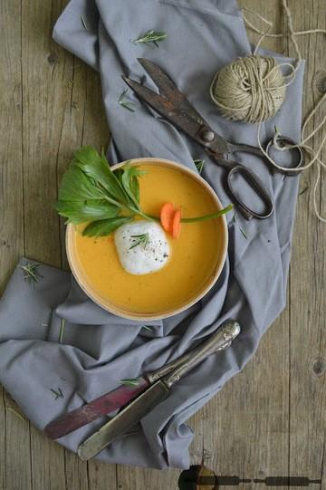 Rezept Curry Melonen Suppe