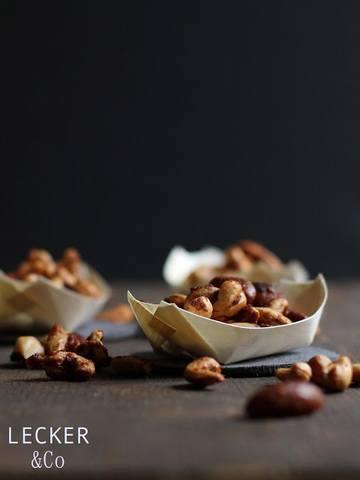 Rezept Curry-Nüsse - Knabberein fürs Sofa