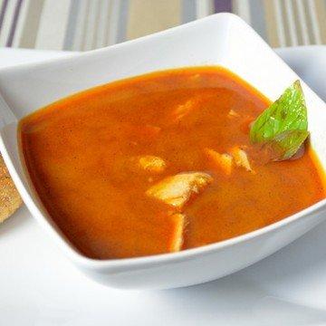 Rezept Curry-Zitronengras Suppe mit Hähnchen