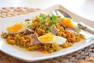 Rezept Curryreis mit Makrele