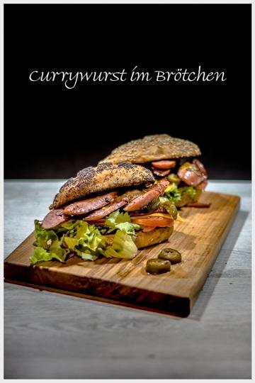Rezept Currywurst Sandwich