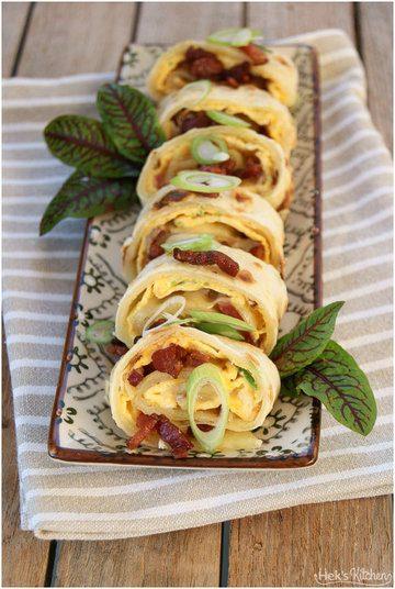 Rezept Dan Bing - Frühstückswraps aus Taiwan