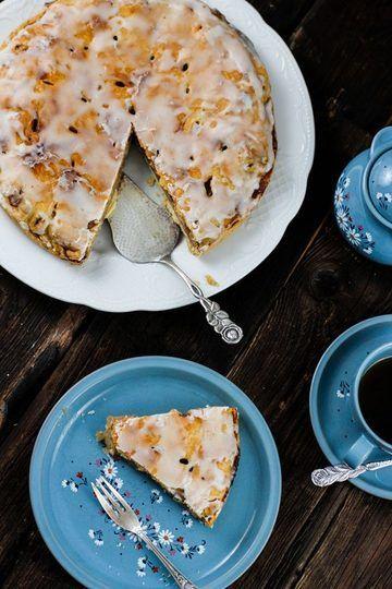 Rezept Dänischer Apfelkuchen Rezept – Backen mit Äpfeln