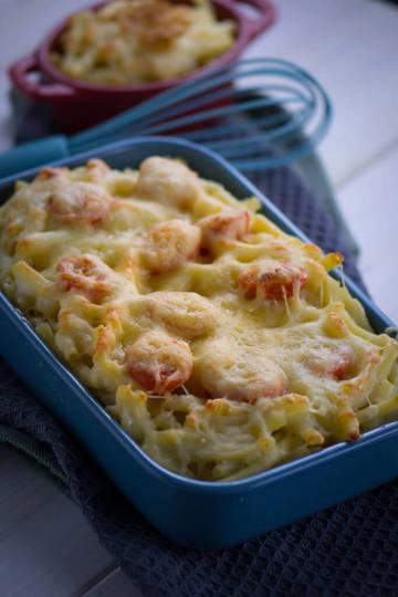 Rezept Das einfachste Rezept der Welt für mega leckere Mac and Cheese