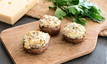 Rezept Das perfekte Rezept für: Gefüllte Pilze