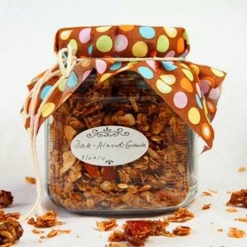 Rezept Dattel Mandel Granola