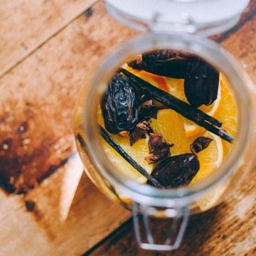 Rezept Dattel-Orangen Likör