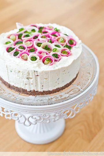 Rezept Deftig-frische Röschen-Torte