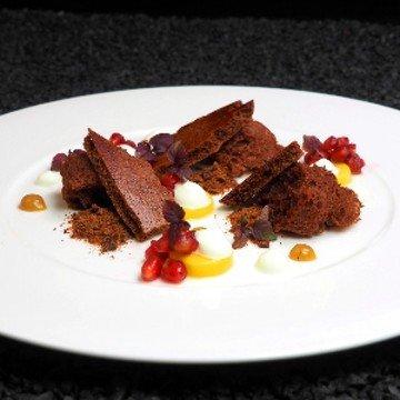 Rezept Dehydriertes Schokoladenmousse und...