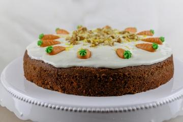 Rezept Der perfekte Carrot-Cake mit Zitronen-Frischkäse Frosting
