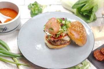 """Rezept Der """"Umami"""" Burger"""