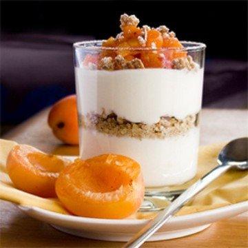 Rezept Dessert mit Aprikosen