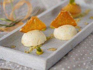 Rezept Dessertteller mit Orange und Pistazie