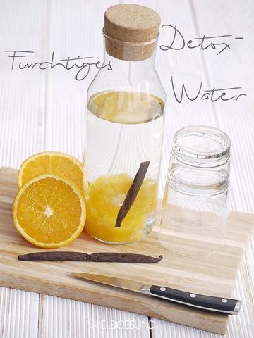 Rezept Detox-Water oder Detox-Wasser