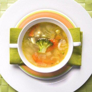 Rezept Die berühmte Kohlsuppe aber kein Diät
