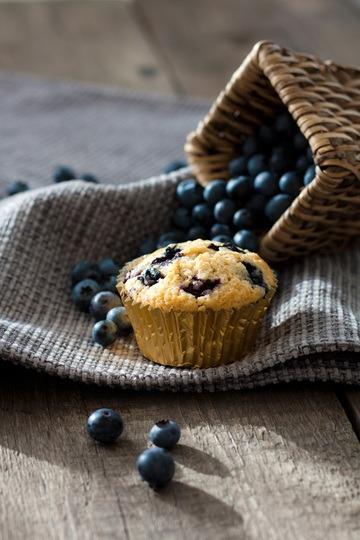 Rezept Die besten Blaubeermuffins
