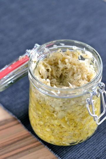 Rezept Dill-Zitronen-Sauerkraut
