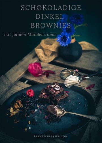Rezept Dinkel Brownies, eine schokoladig vollwertige Nascherei
