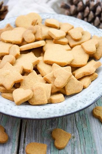 Rezept Dinkel-Butterkekse mit Vollrohrzucker